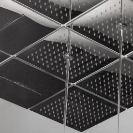 antoniolupi LAMATTONELLA recessed, modular overhead shower with centre jet