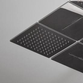 antoniolupi LAMATTONELLA recessed, modular overhead shower with rain shower