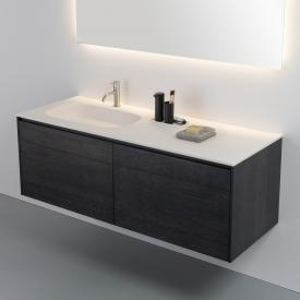 antoniolupi NUVOLA countertop with PIANA vanity unit with 2 pull-out compartments