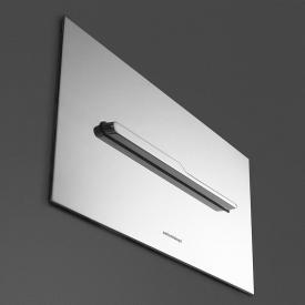 antoniolupi ONDA flush plate satin stainless steel