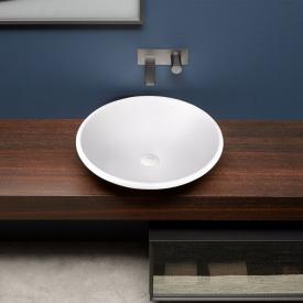antoniolupi RIM countertop washbasin matt white