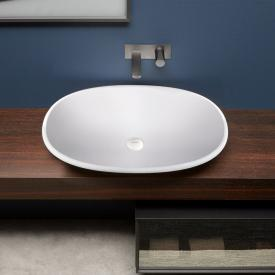 antoniolupi RIM countertop washbasin matt white