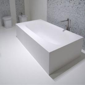 antoniolupi SARTO freestanding rectangular bath waste chrome