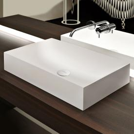 antoniolupi STRATOS countertop washbasin matt white