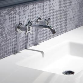 antoniolupi TIMBRO concealed, two handle basin mixer projection: 188 mm