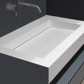antoniolupi Top with integrated MYSLOT 72 basin white