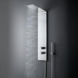 antoniolupi VELA wall-mounted shower system with thermostat
