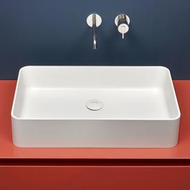 antoniolupi VELO countertop washbasin matt white