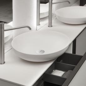 antoniolupi VERSO countertop washbasin matt white