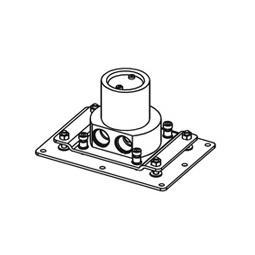 antoniolupi AYATI concealed installation unit for freestanding basin fittings