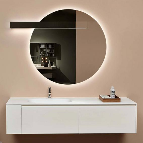 antoniolupi CIRCUS mirror with LED lighting lighting left