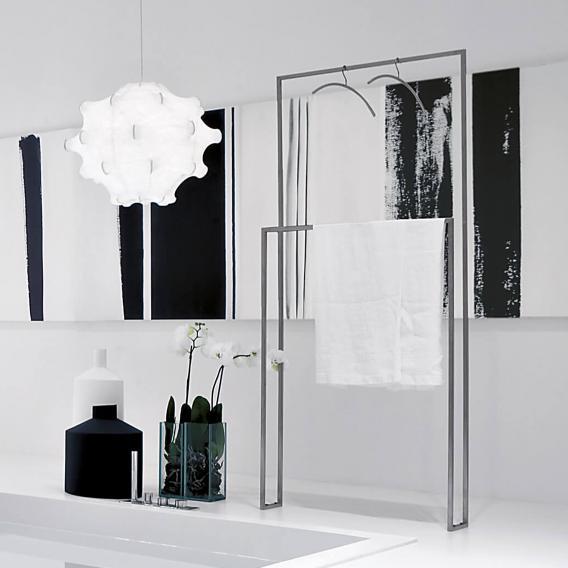 antoniolupi TANDEM-UP double towel stand