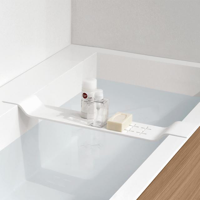 antoniolupi BRIDGE bath tray for Biblio bath