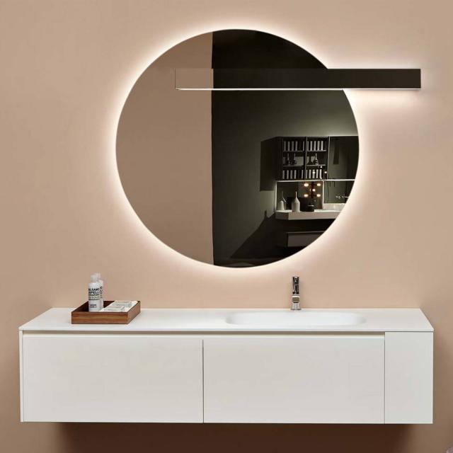 antoniolupi CIRCUS mirror with LED lighting lighting right