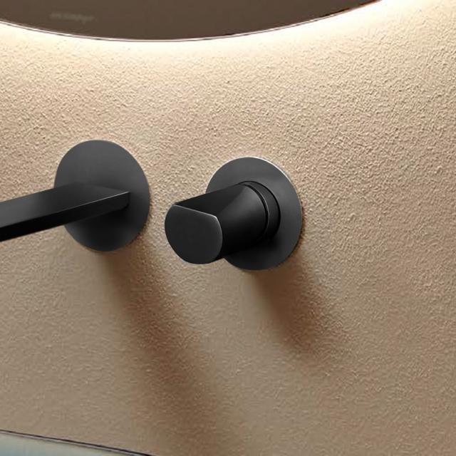 antoniolupi INDIGO concealed single lever mixer matt graphite