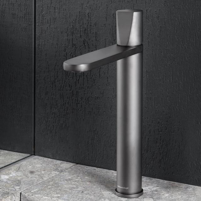 antoniolupi INDIGO single lever basin mixer matt graphite