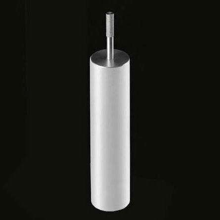 antoniolupi JUST freestanding toilet brush set matt white