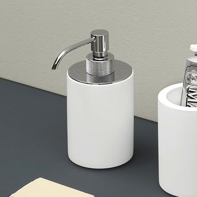 antoniolupi JUST soap dispenser matt white