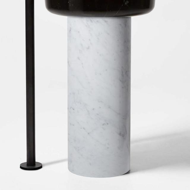 antoniolupi OPALE pedestal carrara