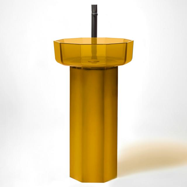 antoniolupi OPALE pedestal ambra