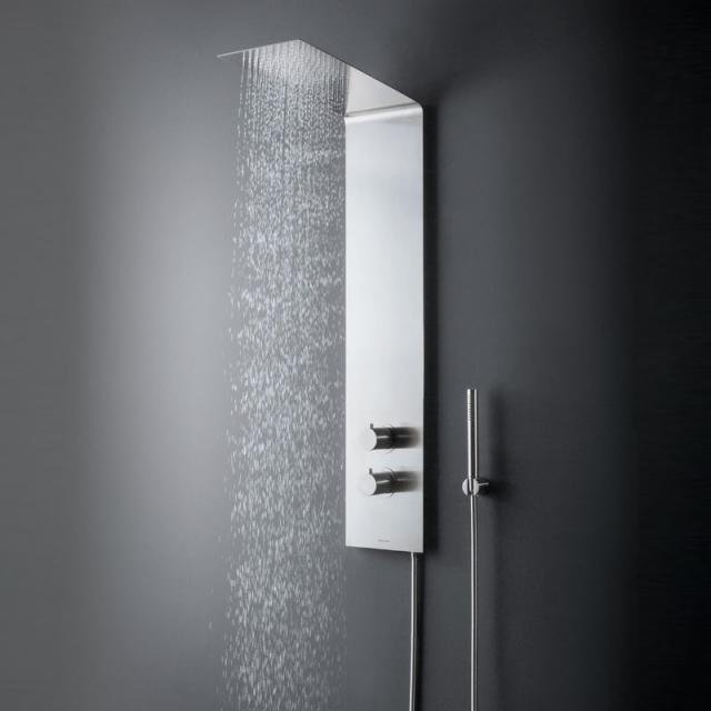 antoniolupi VELA wall-mounted shower system with thermostat