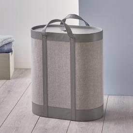 Aquanova BLIX laundry basket grey