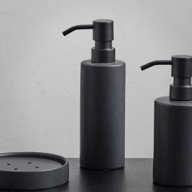Aquanova FORTE soap dispenser large black