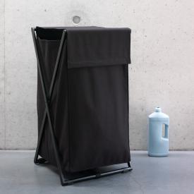 Aquanova ICON laundry basket black