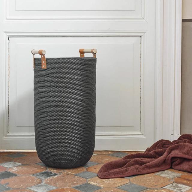 Aquanova CINO laundry bin black