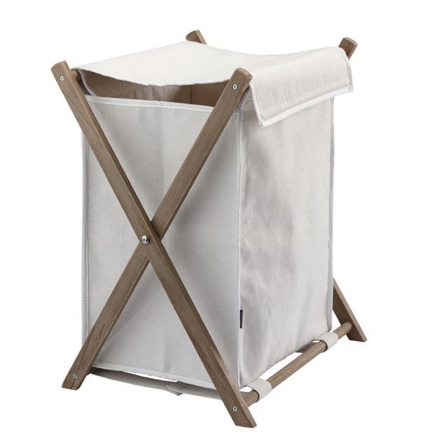 Aquanova DALI laundry bin ivory