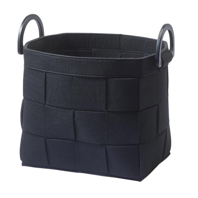 Aquanova DIX storage basket black