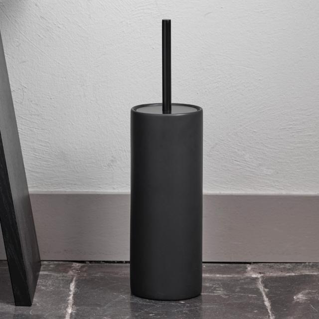 Aquanova FORTE toilet brush set black