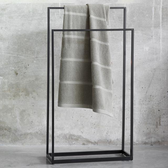 Aquanova YURI towel stand matt black