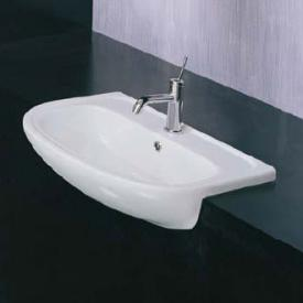 Apollo semi-recessed washbasin W: 66 D: 49 cm