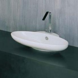 Fuori3 countertop washbasin W: 63 H: 13 D: 47 cm