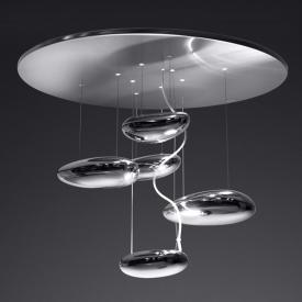 Artemide Mercury Mini soffitto Inox ceiling light