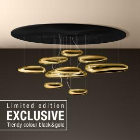 Artemide Mercury Soffitto Inox LED ceiling light