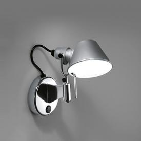 Artemide Tolomeo Micro Faretto LED wall light with dimmer