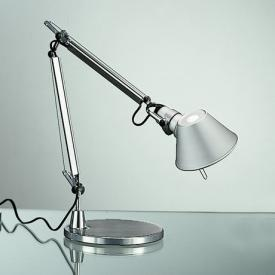 Artemide Tolomeo Micro LED table lamp with base and dimmer