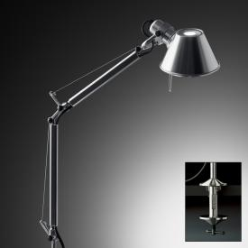 Artemide Tolomeo Micro table lamp with table clamp