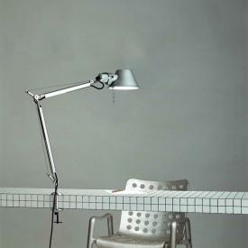 Artemide Tolomeo Mini table lamp with clamp