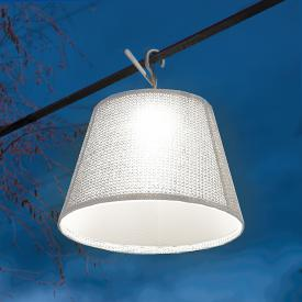 Artemide Tolomeo Paralume Outdoor hook LED pendant light