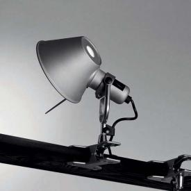 Artemide Tolomeo Pinza LED light with clamp with dimmer