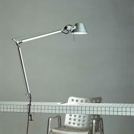 Artemide Tolomeo Morsetto table lamp with table clamp