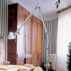 Artemide Tolomeo Terra LED TW floor lamp with base and dimmer