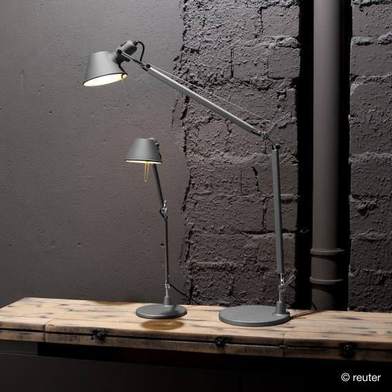 Artemide Tolomeo Micro table lamp with table base