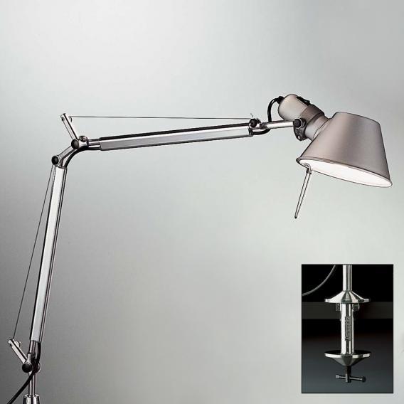 Artemide Tolomeo Mini Led Table Lamp, Tolomeo Table Lamp With Clamp
