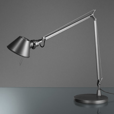 Artemide Tolomeo Mini LED table lamp with motion sensor and dimmer