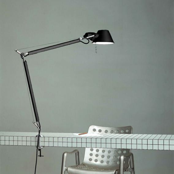 Artemide Tolomeo Morsetto Table Lamp, Tolomeo Table Lamp With Clamp