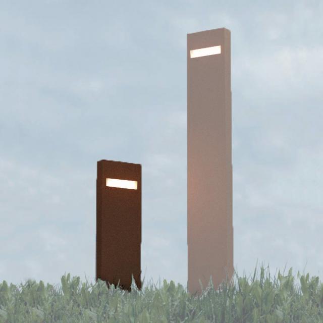Artemide Nuda 50 LED Double-sided pedestal light, double
